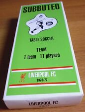 SUBBUTEO TABLE SOCCER TEAM - LIVERPOOL FC 1976/77 - 10/17