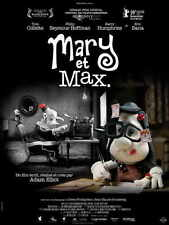 MARY AND MAX Movie POSTER 27x40 French B Toni Collette Philip Seymour Hoffman