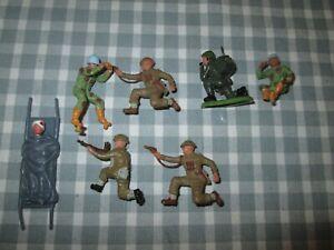 Britains /Timpos-Plastic Military Figures-Spares-Unboxed