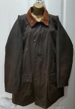 """Mens Unisex Sherwood traditional Waxed Cotton Jacket Small 48"""" Chest  UK made"""