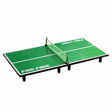 Mini Table Tennis Pingpong Table Net Paddle Ball  Set Sports Outdoor Indoor vee
