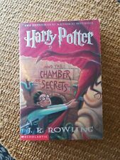 Harry Potter And The Chamber Of Secrets by J. K. Rowling SCHOLASTIC Awesome PB