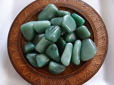 AVENTURINE, GREEN 1/4 Lb Gemstone Specimens Tumbled Wiccan Pagan Metaphysical