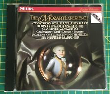 The Mozart Experience Volume 3: Concertos For Various Instruments CD Philips