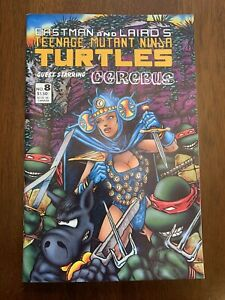 Teenage Mutant Ninja Turtles (1st Series) #8 1st Print NM+ Stunning Combine Ship