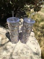 SALE!! 50% OFF Was $32 Cypress Home Refresh Set Of 2 Beach Tumblers 16oz