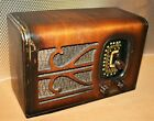 VINTAGE OLD ANTIQUE SIMPLEX TABLE RADIO;1936;MODEL RJ,AM/SW,RESTORED CHASSIS!