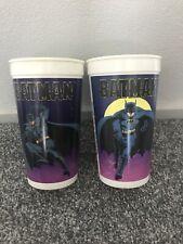 Batman 1989 Taco Bell Cups
