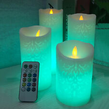 LED Flameless Candle Battery Operated Tea Light Flickering Wedding Celebration