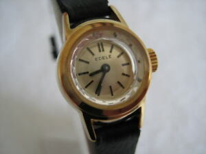 NOS NEW VINTAGE SPECIAL MECHANICAL HAND-WINDING WOMEN'S EDELE ANALOG WATCH 1960