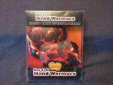 HOT COAL HAND WARMERS REUSABLE PADS.