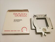 """Simmon Omega 2.25 x2.25"""" Glassless Rapid Shift NEGATIVE CARRIER 423-107 for B-22"""