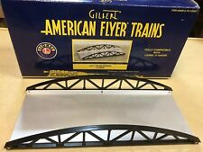 American Flyer by Lionel # 49825 # 571 Black Truss Bridge