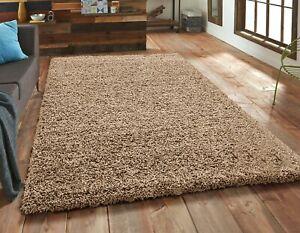 Thick Shaggy Large Rug Runner Non Slip Hallway Living Room Carpet Deep Pile