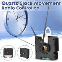 DCF Funk Uhrwerk Quarzuhr +3 Zeigersätzen Quarzuhrwerk Geräuschlos Auto Deutsche