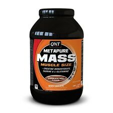 QNT Metapure Mass & Siero Di Latte Isolare massa muscolare (Chocolate/Nuovo di zecca) - 1.1kg
