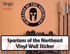 Spartan Race: Spartans of the Northeast Vinyl Wall Sticker