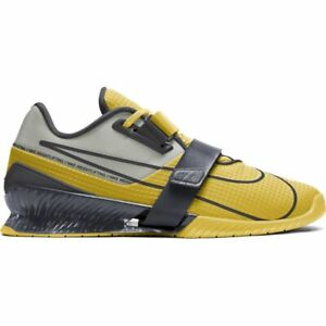 Nike Romaleos 4 (Bright Citron/Dark Smoke Grey)(CD3463-707)(Multiple Sizes)