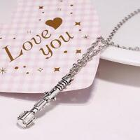 Doctor Who Classic Sonic Screwdriver Necklace Chain Cosplay Decoration