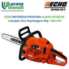 ECHO MOTOSEGA POTATURA model CS-352 ES Barra Carving 35cm Leggera StartKIT 35cc
