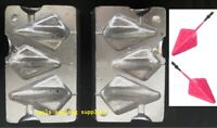 Sea Fishing Lead Weight Mould DIAMOND PYRAMID 3 IN 1 Cast   3 / 3.5 / 5oz