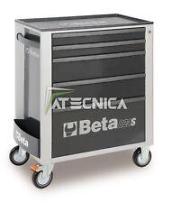 Carrello cassettiera mobile Beta Tools C24S 5/G portautensili 5 cassetti grigio