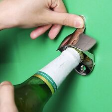 Stainless Steel Wall Mounted Bar Beer Soda Glass Cap Bottle Opener Cooking Tools