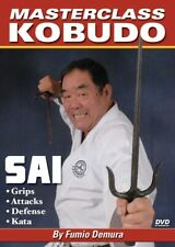 Master Class Kobudo Karate Sai Dvd #4 Fumio Demura Shito Ryu shotokan shito ryu