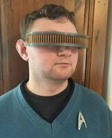 Star Trek Next Generation TNG Geordi La Forge Visor Costume Prop Cos Play