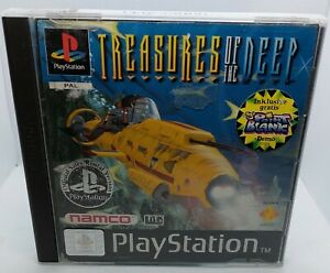 PS1 Treasures of the Deep Playstation 1 + OVP & Anleitung - Guter Zustand