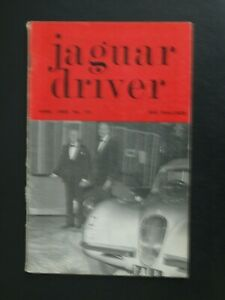 JAGUAR DRIVER JOURNAL APRIL 1966