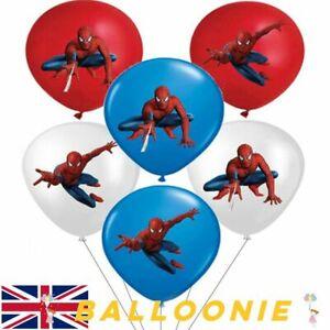 Spiderman Marvel Avengers Balloons Batman Iron Man Hulk Balloon Superhero Hero