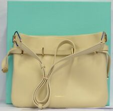 Tiffany & Co. Blair Crossbody Bag Chalk Smooth Leather Authenticity Certificate
