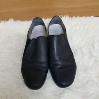 Rieker Antistress Black Women's Leather Block Heel Shoes UK 8 EUR 42 Comfort