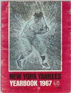 Vintage New York Yankees 1967 Team Yearbook Revised Lot E