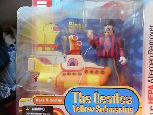 McFarlane Toys THE BEATLES Yellow Submarine RINGO WITH YELLOW SUBMARINE - NEW