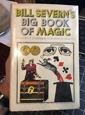 Bill Severn's Big Book Of Magic 1976 Edition Rare Hcdj Collectible Magician
