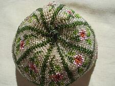 bourse perlée ancienne -  antique beaded purse -  alte Perlentasche