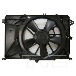 Dual Radiator & Condenser Cooling Fan for 17-20 Jeep Compass 2.4L