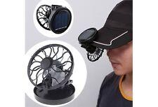 Eco-friend Hat Mini Clip Solar Sun Energy Power Panel Cell Cooling Fan Cooler