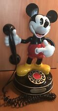 Disney Mickey Mouse 1 Telephone Telemania Talking Phone