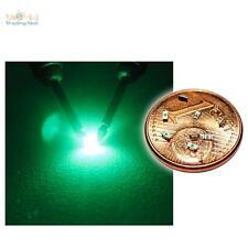 10 grüne SMD LEDs 0603 / grün green vert groene verde groen mini SMDs LED