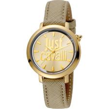 Orologio JUST CAVALLI mod LOGO ref. JC1L007L0025 Donna solo tempo cassa dorata