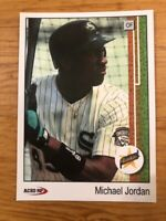 MICHAEL JORDAN 1989 Upper Deck Rookie Card ACEO Reprint Chicago Bulls White Sox