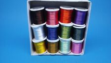 Fly tying  Floss, 12 spools, fly tying materials, flies, craft, TOOLS