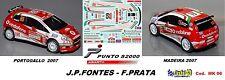 Fiat Punto S2000 -  FONTES  Rally Madeira 2007 / Rally Portogallo   2007