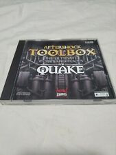 Aftershock Toolbox The Ultimate Command Tools For Quake PC CD ROM