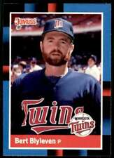 1988 Donruss Baseball Bert Blyleven Minnesota Twins #71
