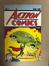 SUPERMAN ACTION COMICS #1 REPRINT OF 1938 1ST APPEARANCE DC COMICS (1992) RARE