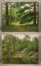 Garner Arnold Reckard, Pair of American Oil Painting Landscapes